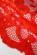 Krajkove koktejlove saty s kvetinovym vzorem cervene S-124-4
