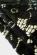 Trictvrtecni midi saty s tenkymi raminky, pevna krajka, kremova  cerna S-167-BK (3)