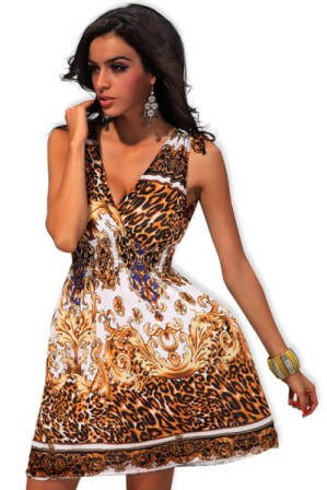 Kratší letní šaty barevné, vel. UNI (S-L) |letní šaty kratšího střihu ke kolenům výrazných barev z lehkého materiálu s žabičkovým pasem