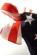 Dámske bikiny bez raminek- potisk americke vlajky P-102 (2)