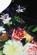 Elegantni koktejlove saty bez rukavu s potiskem kvetu- tmave S-273-BK (6)