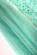 Kratke spolecenske saty na raminka, horni cast z krajky, mentolove S-280-BE (7)