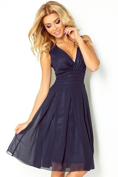 86a82a465cfc Luxusní lehké společenské   letní šaty s volnou sukní