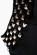 Pouzdrove saty s kratkymi rukavy a zdobenym vystrihem – cerne S-254-BK (5)