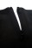 Pouzdrove saty s kratkymi rukavy a zdobenym vystrihem – cerne S-254-BK (6)
