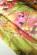 Letni prilehave minisaty s rasenou latkou, potisk kvetin, pestrobarevne S-156-GN (4)
