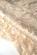Krajkove minisaty bez rukavu, maly kulaty vystrih, bezove S-293-SK 15