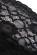 Dlouhe krajkove plesove saty, polopruhledna spodni cast, cerne S-298-BK (6)