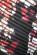 Kratke spolecenske skater saty s volnou spodni casti, cerna + potisk kvetu S-264-Multi (5)