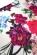 Letni spolecenske koktejlove saty ke kolenum, bila + barevny potisk kvetin S-305-Multi (7)