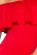 Koktejlove saty s volanem v dekoltu, odhalena ramena, hispansky styl – cervene S-319-RD (5)