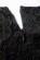 Luxusni krajkove saty kratsiho strihu, pruhledne rukavy, cerne S-313-BK (8)