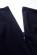 Luxusni spolecenske saty po kolena s volnou sukni, tmave modre S-312-BE (8)