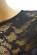 Spolecenske pouzdrove saty nad kolena s krajkovou horni casti – cerne S-318-BK (9)
