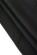 Male cerne saty pod kolena s rozparky na bocich, vystrih do V, cerne S-232-BK (7)