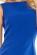 Elegantni kratke damske saty, volnejsi strih, svetle modre S-297-LBE (5)