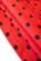Bavlnene kratke spolecenske  domaci saty s volnou sukni, cervene S-326-RD (8)