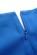 Elegantni kratke damske saty, volnejsi strih, svetle modre S-297-LBE (7)